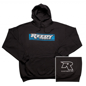 REEDY W19 PULLOVER HOODIE BLACK (SMALL)