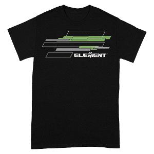 ELEMENT RC RHOMBUS T-SHIRT BLACK - SMALL
