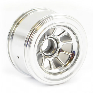 SWEEP 1/10 FORMULA1 FRONT AND REAR WHEELS SILVER (4)