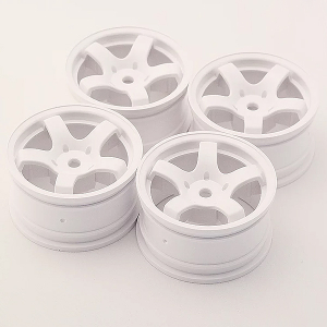 SWEEP MINI 5-SPOKE WHEEL TYPE A WHITE (4)