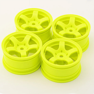 SWEEP MINI 5-SPOKE WHEEL TYPE A YELLOW (4)