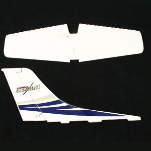 TOP GUN PARK FLITE CESSNA 182 SKYLANE TAIL WING (BLUE)