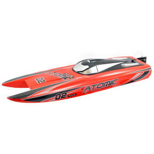 VOLANTEX RACENT ATOMIC 70CM BRUSHLESS RACING BOAT RTR (RED)