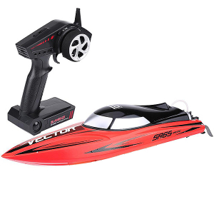 VOLANTEX RACENT VECTOR SR65CM BRUSHLESS RACING BOAT RTR RED