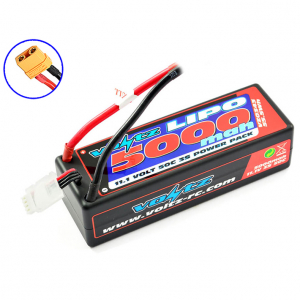 VOLTZ 5000mah HARD CASE 11.1V 50C LIPO STICK PACK XT90