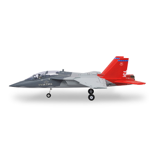 XFLY 64MM T-7A RED HAWK EDF JET 750MM  w/o TX/RX/BATT