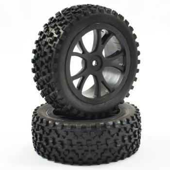 FASTRAX 1 / 10TH MONTÃ CUBOID BUGGY pneus avant 10 RAYONS